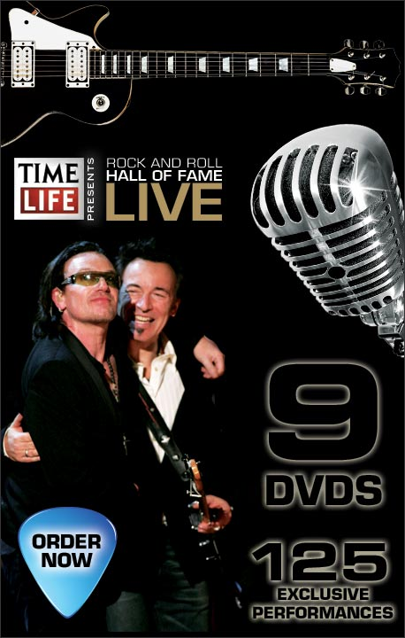 Time Life presents - Rock and roll hall of fame Live